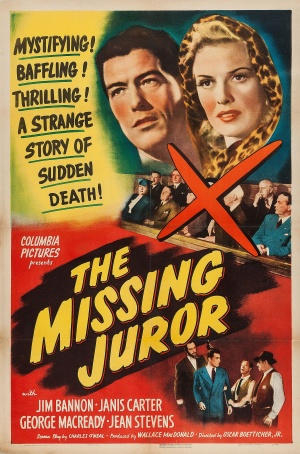 The Missing Juror Poster