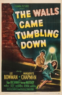 The Walls Came Tumbling Down poster