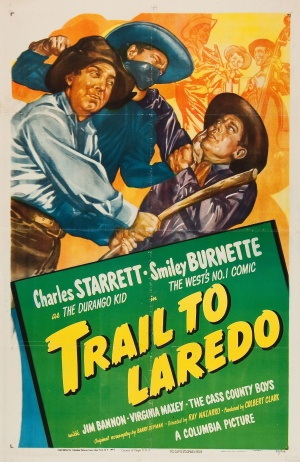 Trail to Laredo Poster