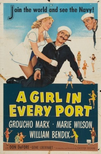 A Girl in Every Port poster