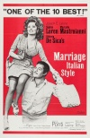 Matrimonio all'italiana Poster