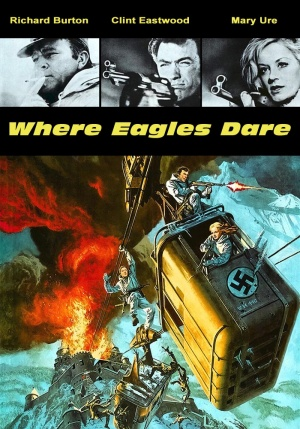 Where Eagles Dare Dvd cover