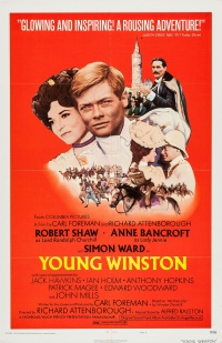 Young Winston poster