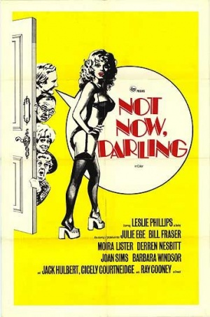 Not Now Darling Poster