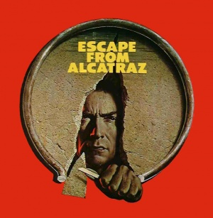 Escape From Alcatraz Blu-ray cover