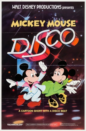 Mickey Mouse Disco Poster