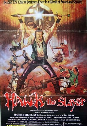 Hawk the Slayer Poster