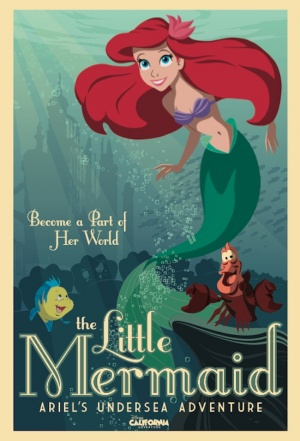 The Little Mermaid 550x808
