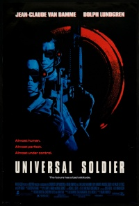 Universal Soldier poster