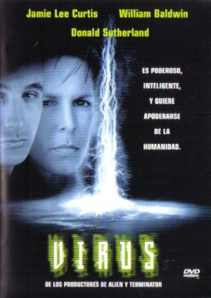 Virus Dvd cover