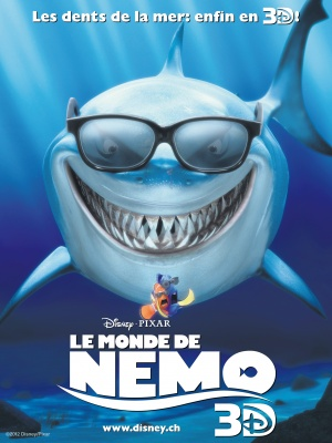 Finding Nemo Re-release poster