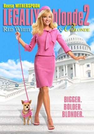 Legally Blonde 2: Red, White & Blonde 700x1000