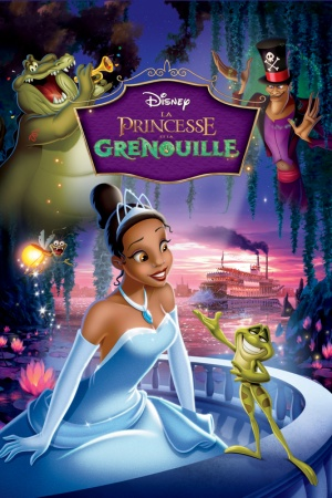 The Princess and the Frog 533x800