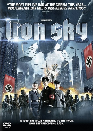 Iron Sky Dvd cover