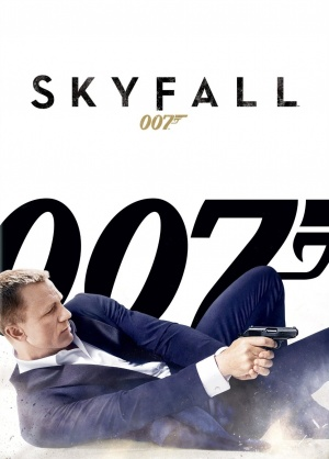 Skyfall Dvd cover