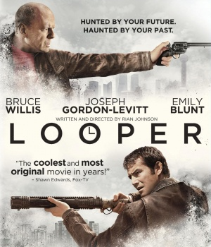 Looper Blu-ray cover