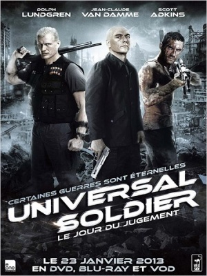 Universal Soldier: Day of Reckoning Video release poster