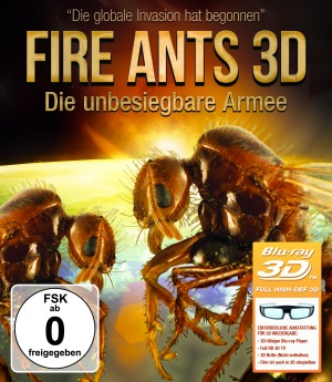 Fire Ants 3D: The Invincible Army Cover