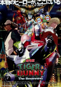 Gekijouban Tiger & Bunny: The Beginning poster