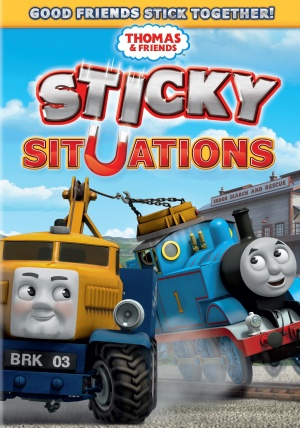 Thomas & Friends: Sticky Situations Cover
