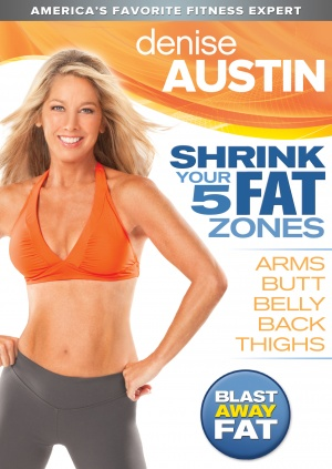 Denise Austin: Shrink Your 5 Fat Zones Cover