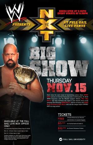 WWE NXT 3235x5000