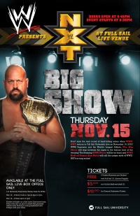 WWE NXT poster