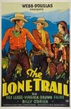 The Lone Trail Poster