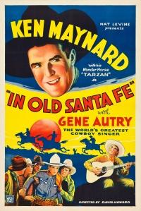 In Old Santa Fe poster