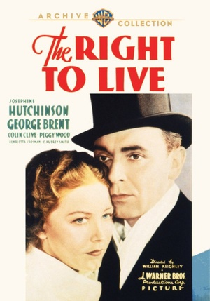 The Right to Live Dvd cover
