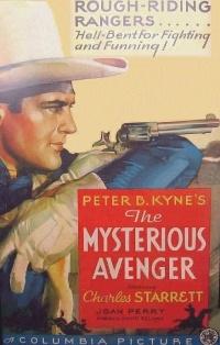 The Mysterious Avenger poster