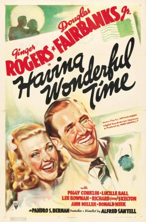 Having Wonderful Time Poster