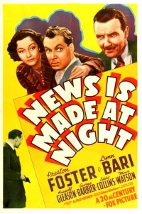 News Is Made at Night poster