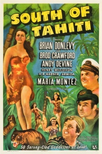 South of Tahiti poster