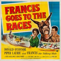 Francis Goes to the Races poster