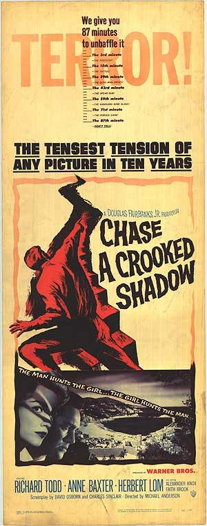 Chase a Crooked Shadow Poster