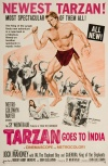 Tarzan Goes to India Poster