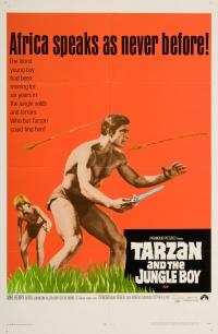 Tarzan e il figlio della giungla poster