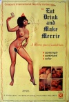 Eat, Drink and Make Merrie Poster
