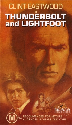 Thunderbolt And Lightfoot Vhs cover