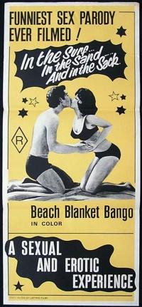 Beach Blanket Bango poster