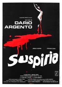 Dario Argento's Suspiria poster