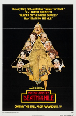 Death on the Nile Advance poster