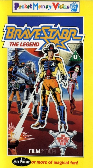 BraveStarr: The Legend Vhs cover