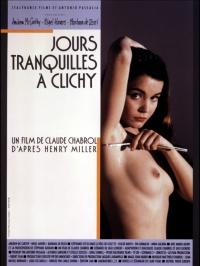 Csendes napok Clichyben poster