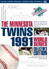 1991 World Series Atlanta Braves vs Minnesota Twins Cover