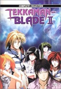 Uchû no kishi Tekkaman Blade II poster
