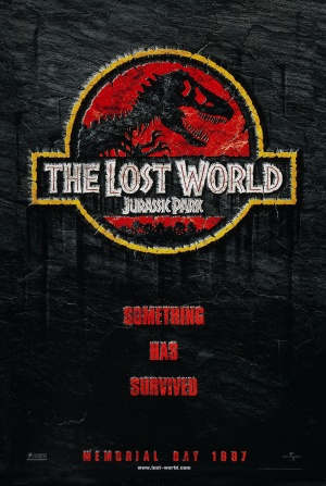 The Lost World: Jurassic Park Advance poster