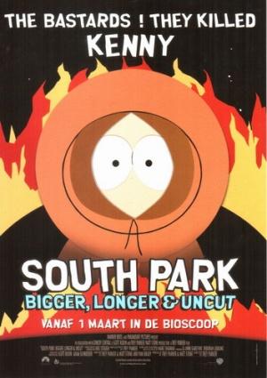 South Park: Bigger, Longer & Uncut 353x500
