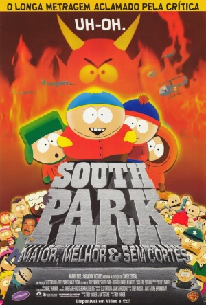 South Park: Bigger, Longer & Uncut 580x858